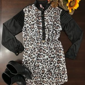 Animal print Dress Shirt